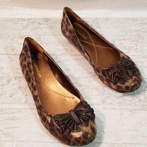 Naturalizer Haroldene Leopard Print Fabric/leather